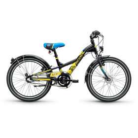 s'cool XXlite 20 3-S Lapset lasten polkupyörä Steel , musta